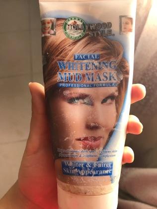 Hollywood Style Facial Whitening Mud Mask